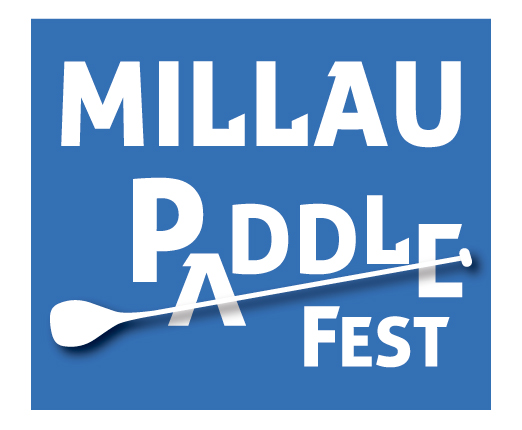 Millau Paddle Festival affiche SUP gonflable