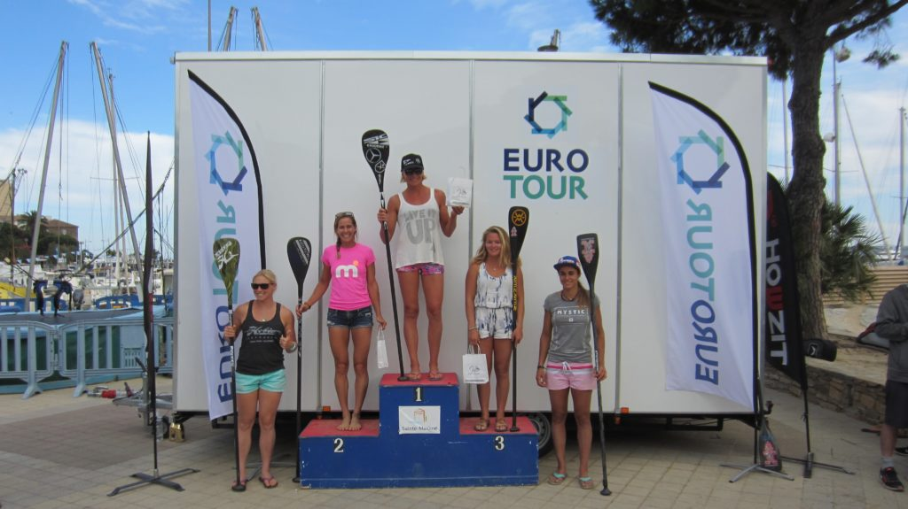 podium girls elite sup race cup