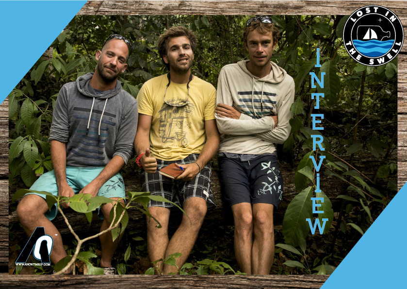 Interview des Losts in the swell