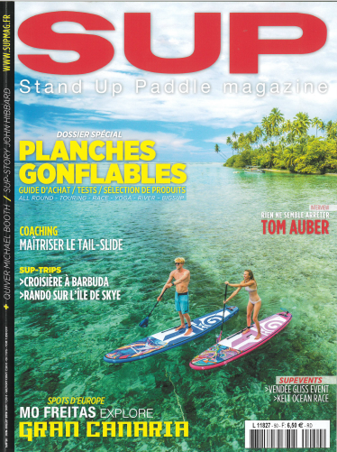 Magazine/Press : Parution dans SUP Magazine