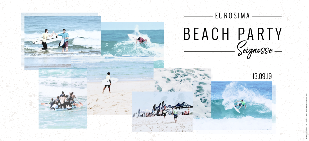 Beach Party Eurosima 2019 à Seignosse